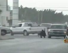Gulf Cartel vs Los Zetas in Valle Hermoso Tamaulipas
