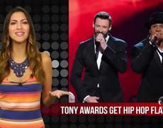 Tony Awards 2014 TI LL Cool J and Hugh Jackman Perform Music Man Rap