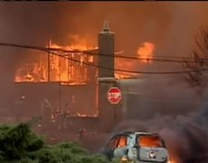 San Bruno Fire Caused by Gas Line