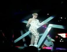 Rihanna Moonwalk Fail