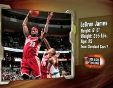 LeBron James Versus Ricardo the Busboy Pop-a-Shot