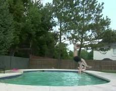Painful Pool Jump Fail Nutshot