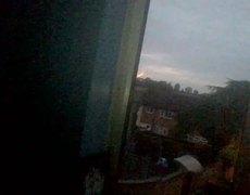 Weird ball of light in the sky caught on video