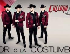 Calibre 50 El Amor O La Costumbre Album Contigo