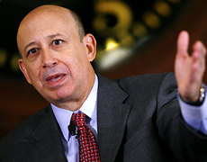 Goldman Sachs Lloyd Blankfein Exclusive Interview