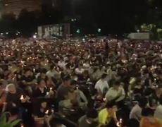 Vigils Mark Tiananmen 25th Anniversary