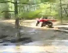 Quad Bike rolls over