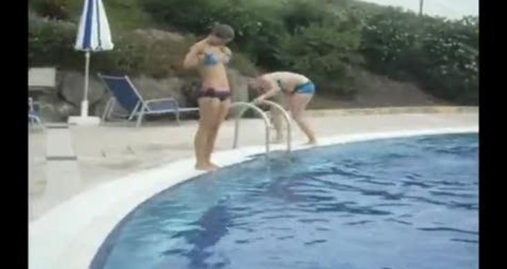 Bikini Chick Slip And Falls Hard Videos Metatube