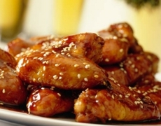 Recipe chicken wings with sesame