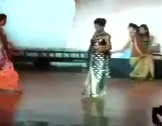 Beauty Pageant Contestant Walks Into Trap Door On Stage