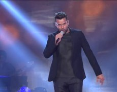 Ricky Martin performs live on The Voice Of Italy 2014