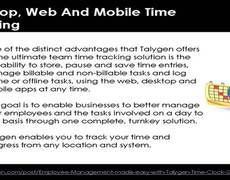 Employee Management made easy with Talygen Time Clock Software