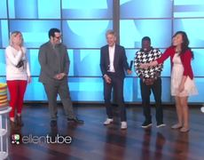The Ellen Show: Wedding Ring Toss with Josh and Kevin