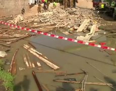 1 Dead After Five-story Building Collapse