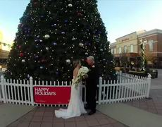 Woman comes to her own surprise wedding