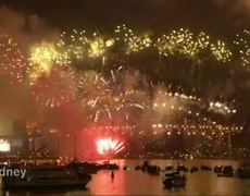 Sydney Rings in New Year With Fireworks