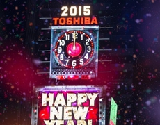 2015 New Year Eve NYC Countdown in Times Square