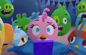 Angry Birds Stella The Runaway Ep5 Sneak Peek - Videos