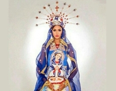 Costume of Miss Dominican Republic is criticized for having image of the Virgin