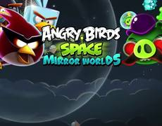 Angry Birds Space: Mirror Worlds Out Now!