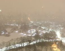 Raw - Winter Storm Juno: Timelapse Views of the Snowstorm