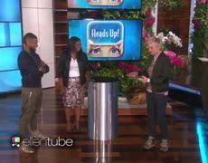 Usher and Octavia Spencer Demonstrate Some Bad Behavior