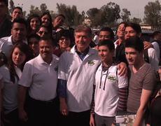 Kiko Vega visita UABC - Gobierno del Estado de Baja California
