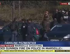 Breaking News - Marseille Shooting: Armed Police At Scene