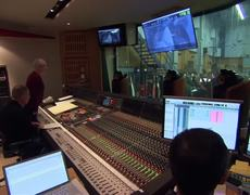 Maleficent Official Movie BROLL Scoring Session 2014 HD Angelina Jolie Elle Fanning Disney Movie