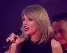 BRIT Awards 2015 - Taylor Swift Wins Best International Female