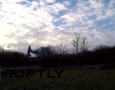 Star Wars fan turns drone into TIE interceptor