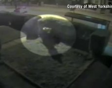 West Yorkshire - Attempted muder' caught on CCTV