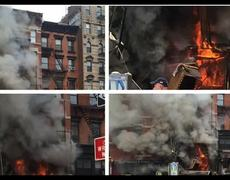 VIDEO: Building Explosion Sparks Fire, Collapse In East Village of NYC