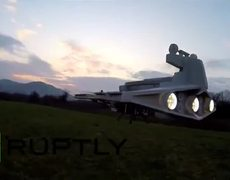 Drone become Imperial Star Destroyer by Star Wars fan