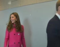 Kate Middleton's first appearance after the birth of her second baby