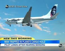 Alaska Airlines Flight Turns Around With Worker in the Cargo Hold