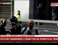 News - Italian Man Kills 3 in Courtroom