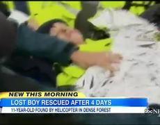 Helicopter Rescue Helps Find Boy With Autism Lost