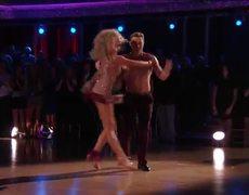 Dancing with the Stars 2015: Nastia & Derek's Samba - Week 3