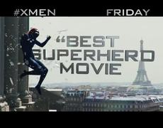 XMen Days of Future Past Official Movie TV SPOT The Best Ever 2014 HD Hugh Jackman Movie