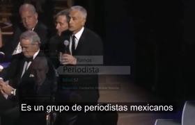 Jorge Ramos envia mensjae a Enrique Peña Nieto