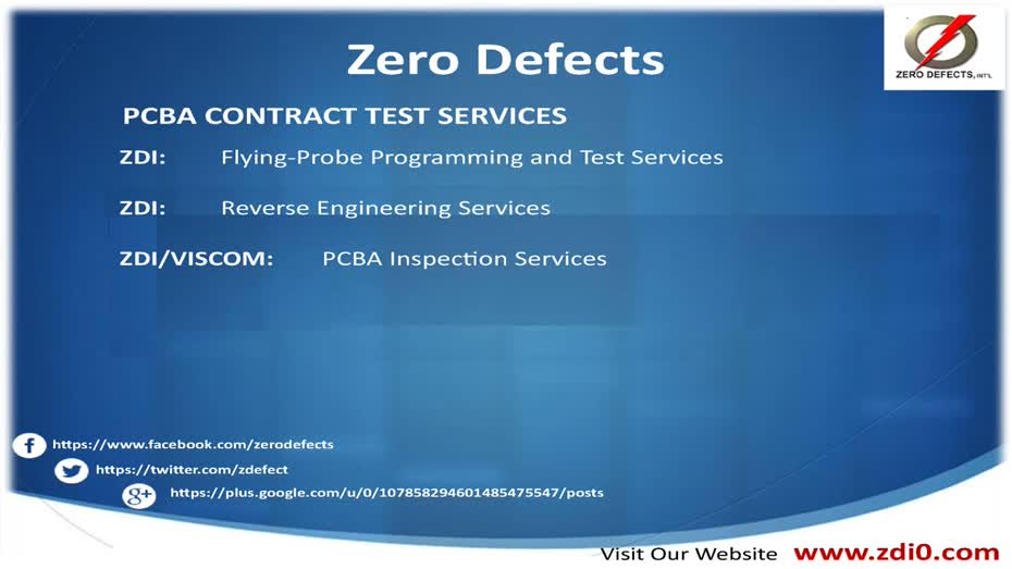 PCBA Testing & Inspection Equipment - Zero Defects