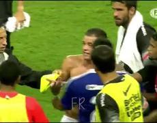 Pleito entre Guzmán Pereira y Andrés D'Alessandro