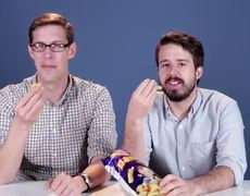 Americans trying Israeli snacks for first time