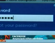 Facebook announced lost Children
