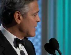 2015 Golden Globes - George Clooney (speech)