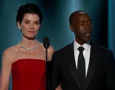 The 2015 Golden Globes - Don Cheadle and Julianna Margulies (George Clooney)