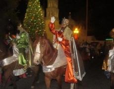 La caravana de Reyes Magos en España