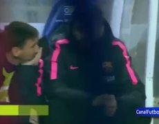 Tremenda discusión entre Lionel Messi y Luis Enrique durante entrenamiento