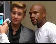 Mayweather and Justin Bieber (2015)